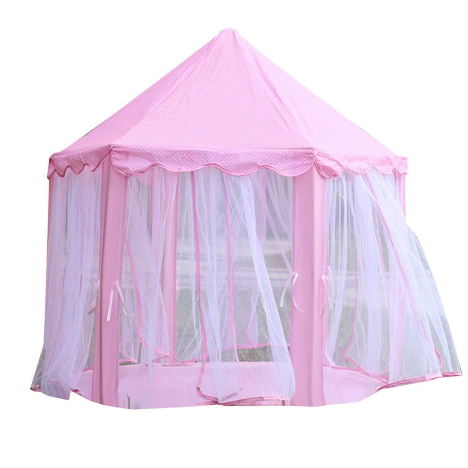 Mosquito Net Bed Tent Children's Bed Tent Outdoor Kids Funny Portable Mosquito Net,Pink,See Below for Size Descriptions