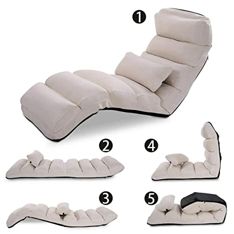 Amazon.com: Sofá silla plegable Lazy sofá cama elegante sofá ...