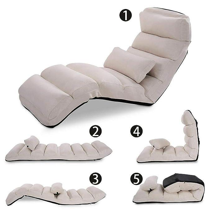 Amazon.com: Silla de sofá plegable y elegante para sofá ...