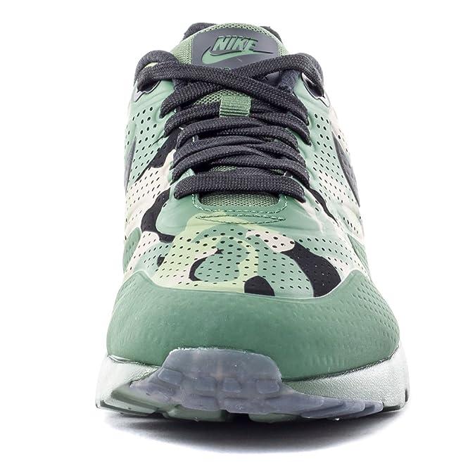 Nike Herren Air Max 1 Ultra Moire Print Laufschuhe, grün
