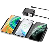 Wireless Charging Pad, ZealSound Qi-Certified Ultra-Slim Triple Wireless Charger Station for Multiple 3 Devices & New…