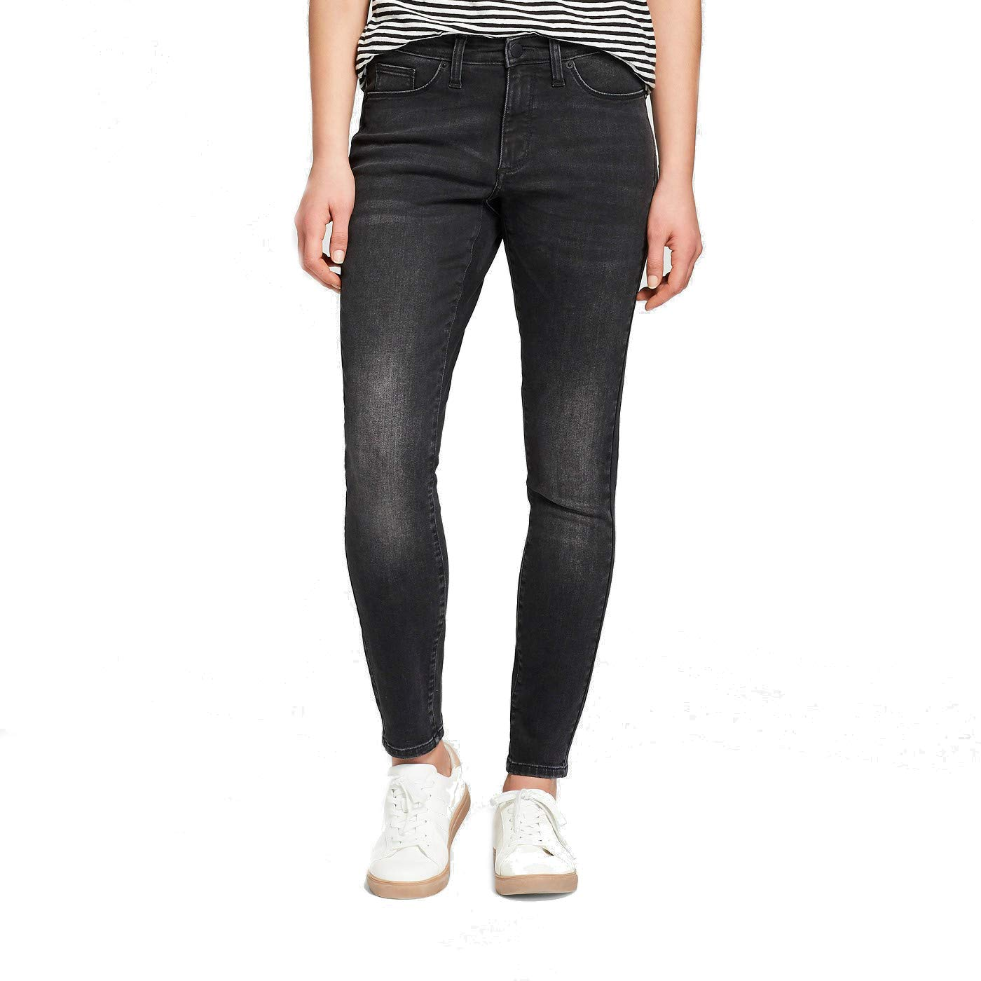 49909e15a428 Universal Thread Women's High-Rise Skinny Jeans Black at Amazon Women's  Jeans store
