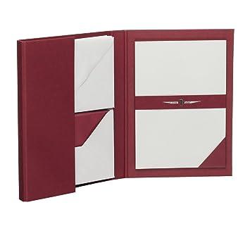 Roessler Papier C6 - Carpeta para escribir cartas (15 hojas A5 con 15 sobres, cartas y sobres de color gris)