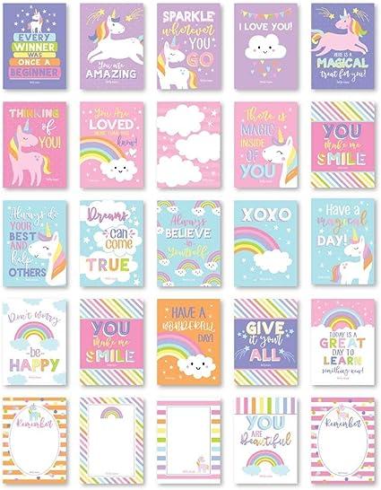 Amazon.com: 25 Unicornio de la escuela de la caja de ...