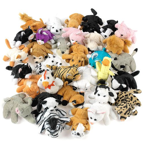 Plush Mini Bean Animal Assortment