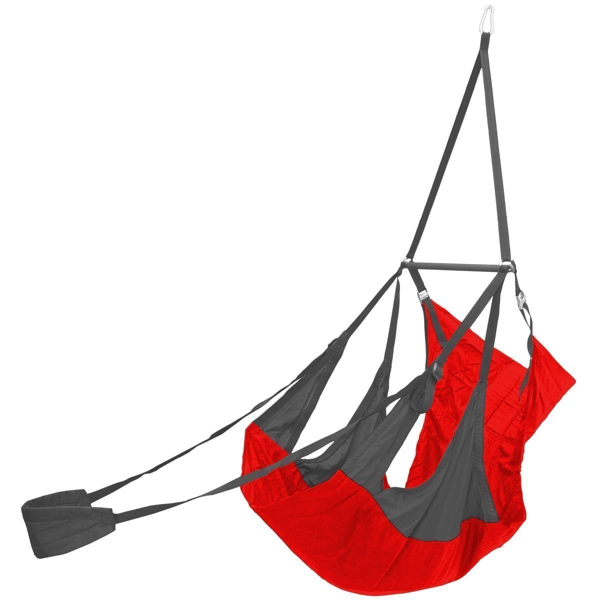 Eagles Nest Outfitters - AIRPOD Hanging Chair Red/Charcoal [並行輸入品] B077QH21F8