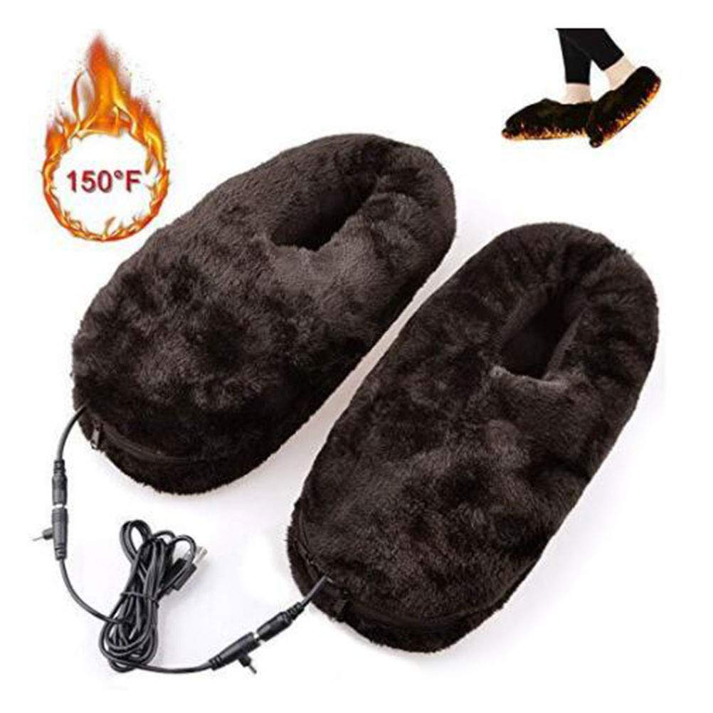 HEALIFTY Calentadores calientes USB Calentadores el/éctricos Calentados Calzado Zapatos de invierno 1 par