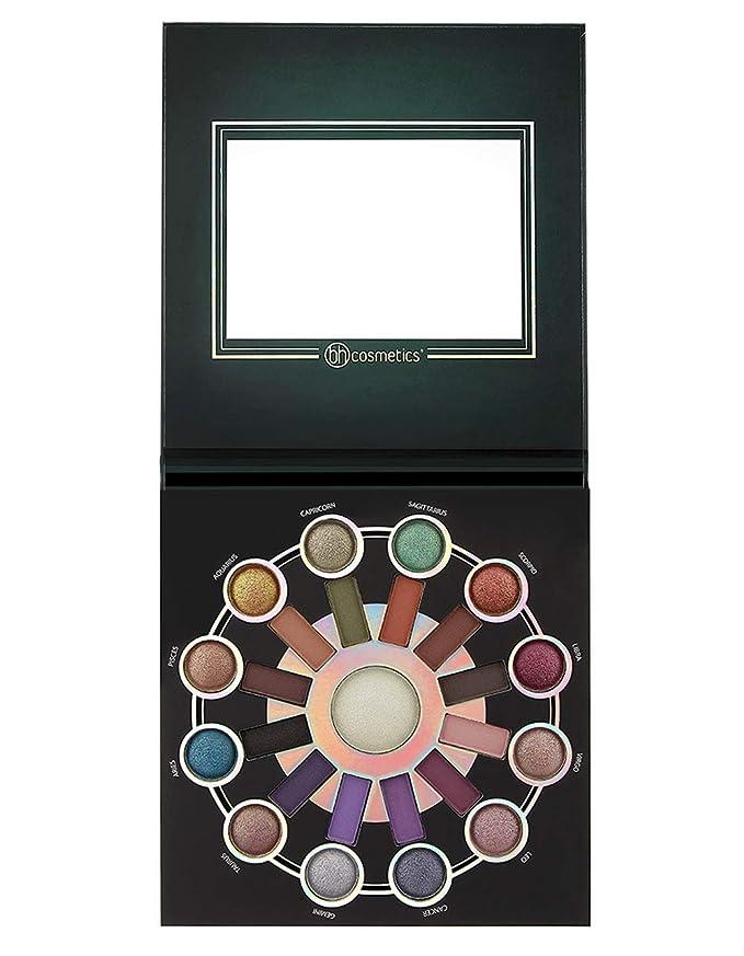Paleta bhcosmetics Zodiac de 25 colores para sombra de ojos e iluminador