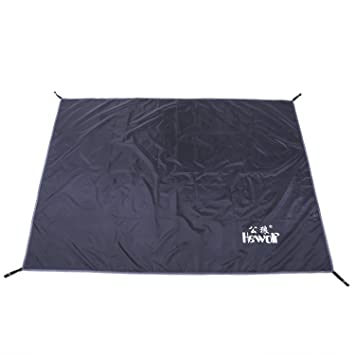 Hewolf 77x77Inch Oxford Cloth Waterproof Tent Tarp Footprint Rain Shelter Picnic Blanket for C&ing Hiking Backpacking  sc 1 st  Amazon.com & Amazon.com : Hewolf 77x77Inch Oxford Cloth Waterproof Tent Tarp ...