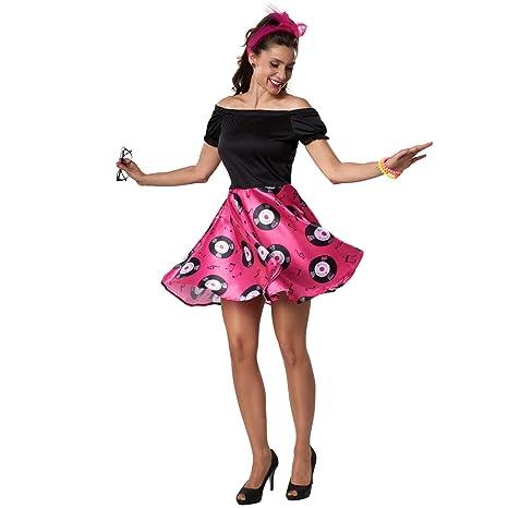 dressforfun 900469 - Disfraz de Mujer Doo-Woop, Vestido Ostentoso ...