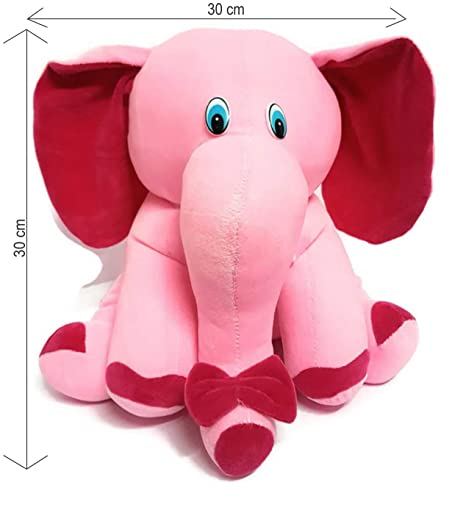 Buy Charms Gift Basket Elephant Soft Toy Big Size For Kids Boys And