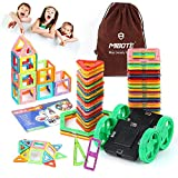 (45 PCS)Magnetic Building Blocks Educational Stacking Blocks Toddler Toys for Preschool Boys Grils Educational and Creative Imagination Development By Mibote