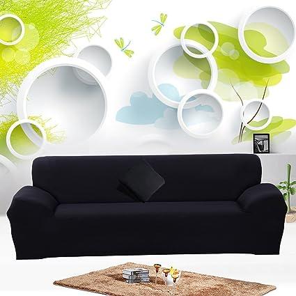 JIAN YA NA Stretch Sofa Covers Polyester Spandex Fabric Slipcover 1pcs  Polyester Fabric Stretch Slipcovers +
