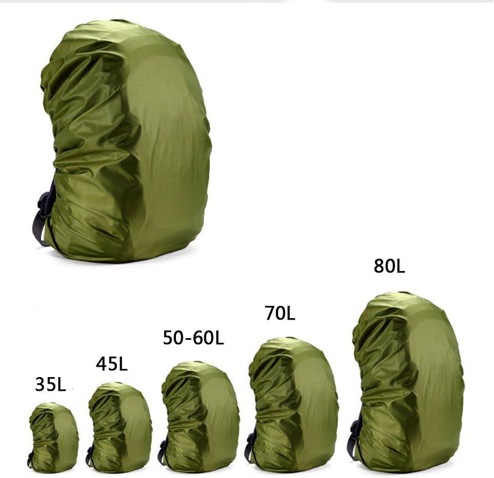 Rucksack-Plane f/ür Outdoor Camping Wandern Regenschutz f/ür Rucks/äcke Rungao Rucksack-Cover