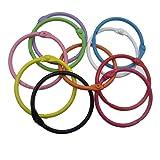 Inner 1.5 Inch 10 Colors Book Rings Key Ring