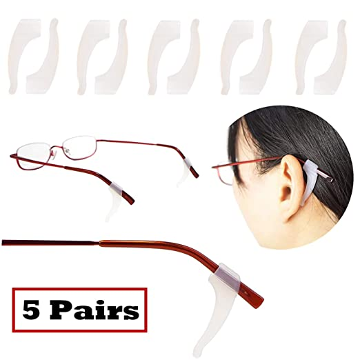 Apparel Accessories Best Selling High Quality 1 Pairs Soft Silicone Anti Slip Ear Hooks Tip For Glasses Sunglasses Eyeglasses Grip 100% High Quality Materials