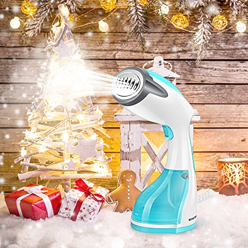 Large Product Image of Beautural Steamer for Clothes, 1200-Watt Powerful Handheld Garment Steamers, Wrinkle Remover, Clean and Sterilize, 30s Fast Heat-up, Auto-Off, 100% Safe, 260ml High Capacity for Home and Travel