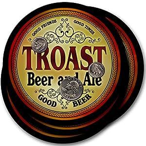 Troast Beer & Ale - 4 pack Drink Coasters
