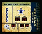 Team Sports America Dallas Cowboys Bluetooth Scoreboard Wall Clock