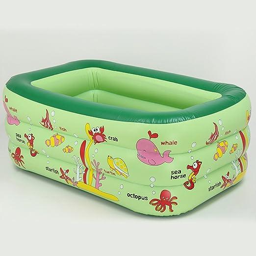 LYM & bañera Plegable Familia Inflable bañera Engrosamiento ...