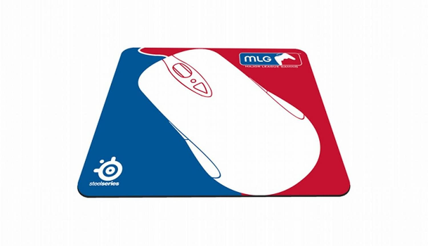 SteelSeries QCK+ Gaming Mouse Pad - MLG BlueRed Edition