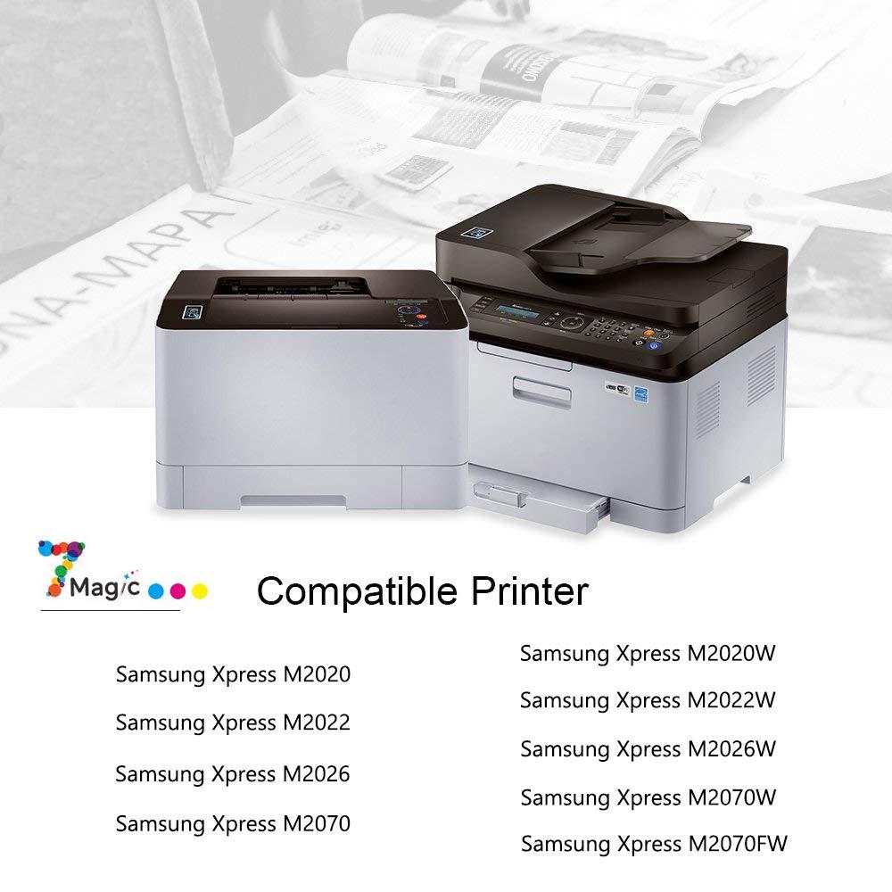 7Magic Compatible Samsung MLT-D111S Cartucho de Tóner (1 Negro ...