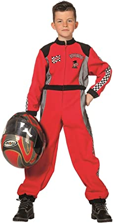 The Fantasy Tailors Disfraz de piloto de Carreras para niños ...