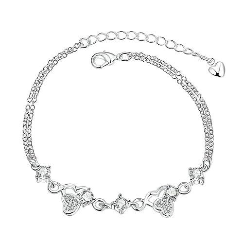 ec13f89c7ceb daesar chapado en oro Pulseras para mujer pulseras brazalete pulsera ...