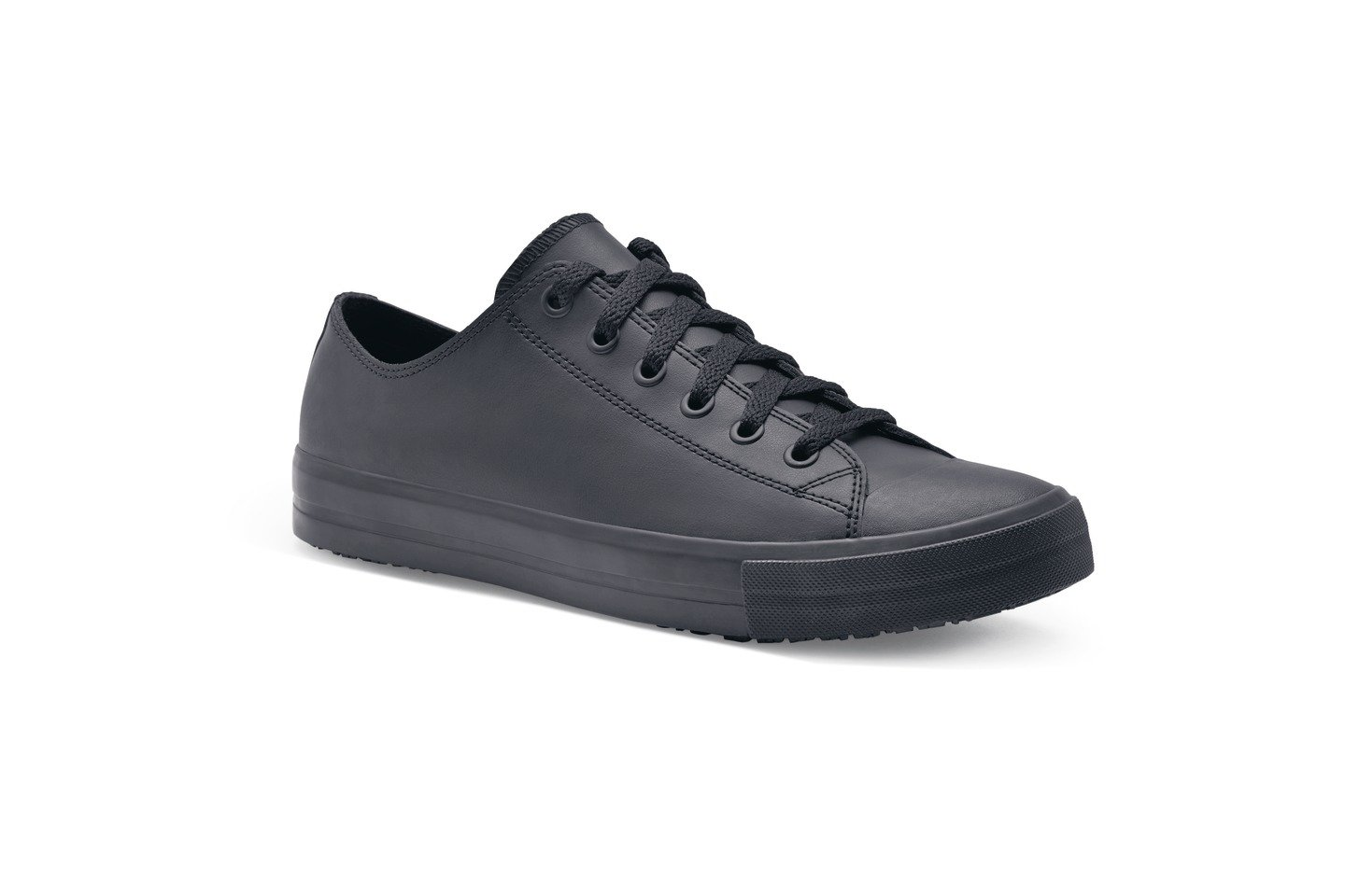 Shoes for Crews 32394-41/7 DELRAY Lä ssige Lederschuhe fü r Damen, Rutschhemmende, Grö ß e 7 UK, Schwarz