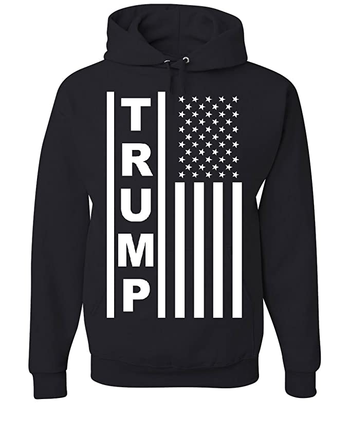 Tee Hunt Trump Flag MAGA Republican Hoodie President USA Republican Political