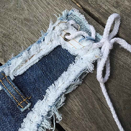 Coolred Women's Raw Hem Low Waist Jeans Clubwear Mini Shorts Hot Pants