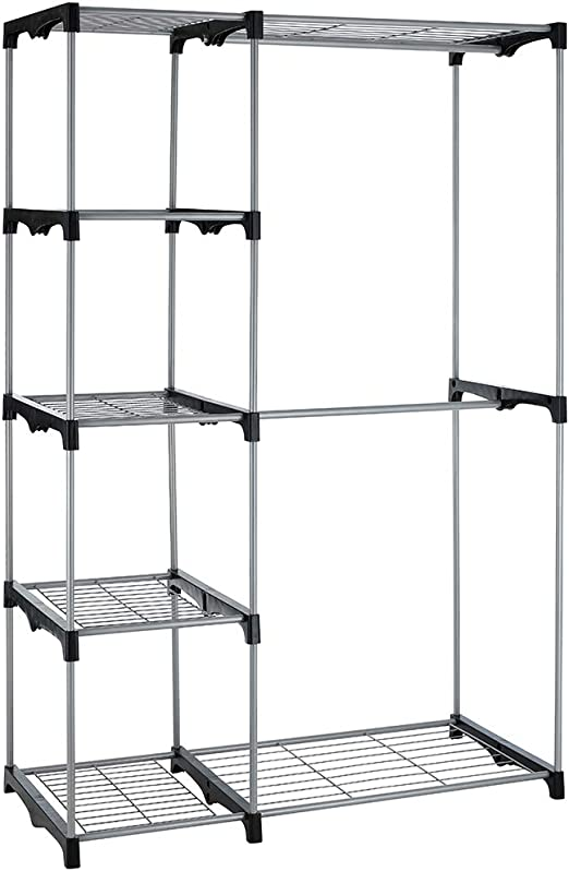 Amazon Com Hanging Closet Organizer And Storage Heavy Duty