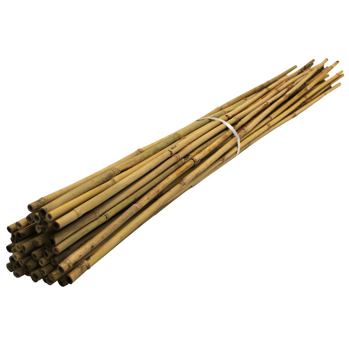 90cm Bamboo (50 pack) Garden Canes, 3ft, 8-10mm dia./thick. Plant Support poles Suregreen
