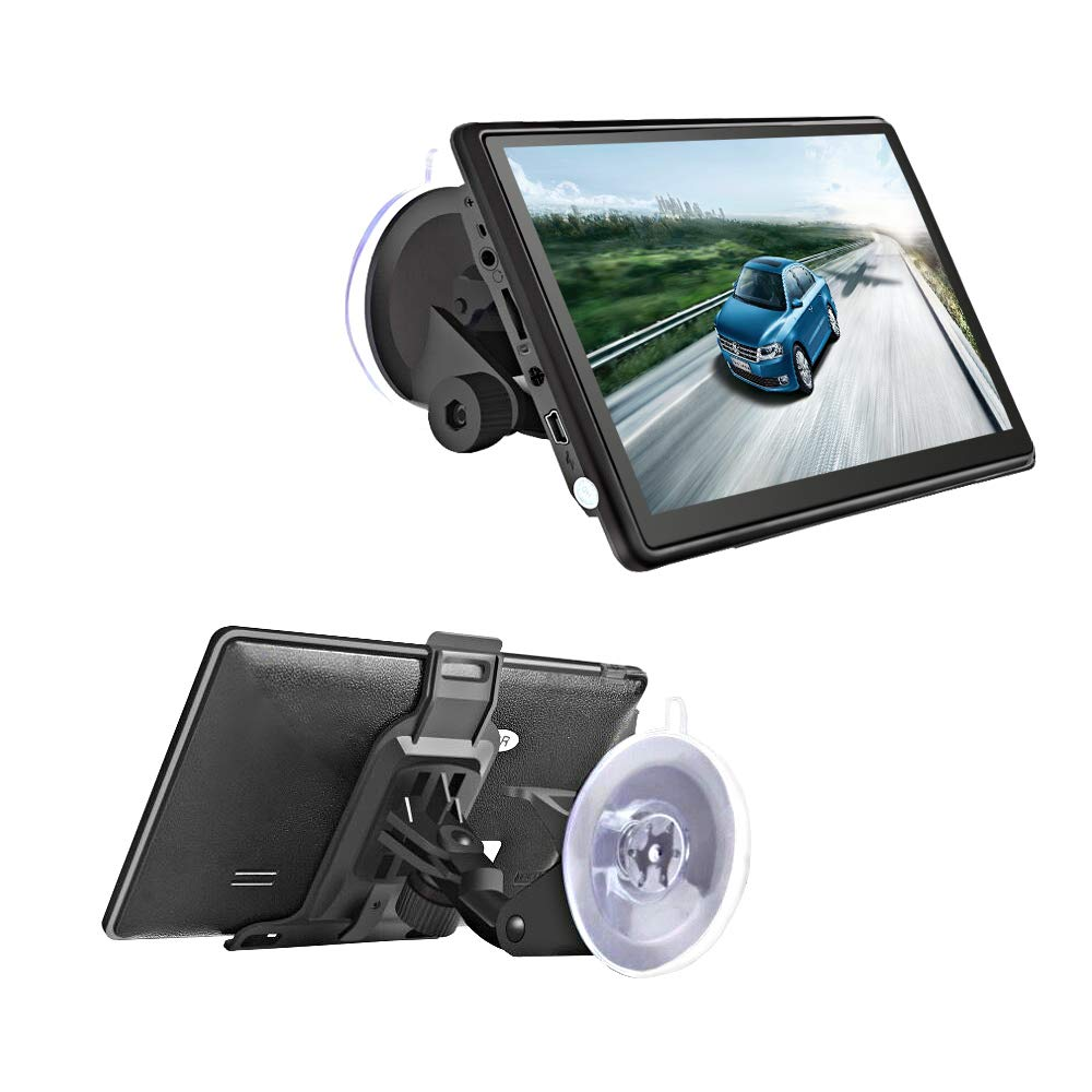 GPS Navigator System with Lifetime Maps, Podofo GPS Navigation for Car 7.0'' Touch Screen Spoken Turn-to-Turn Navigation System for Vehicles Trip Advisor FM MP3 Player