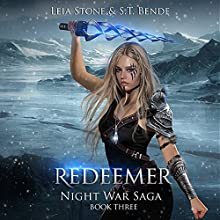 Redeemer: Night War Saga, Book 3 Audiobook by Leia Stone, S. T. Bende Narrated by Vanessa Moyen