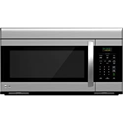 LG LMV1683ST Over-The-Range Microwave Oven with 300 CFM Venting System