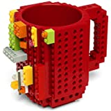 HATU Build-On Brick Mug (Red)