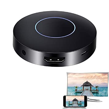 Amazon.com: HDMI Miracast Dongle with AV Output, Kicpot Update ...