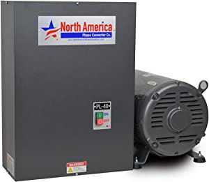 PL-40 Pro-Line 40HP Rotary Phase Converter - Single to Three Phase Converter