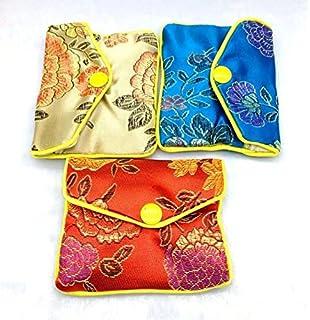 d19b7c189 Womens Jewellery Silk Purse Pouch Gift Bags Purse Multicolour (Multicolour)