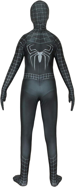Winkep Halloween Superhero Costume Bodysuit Zentai Onesies Spandex for Kids Suit 3D Style