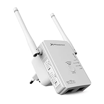 Repetidor / Router / Punto De Acceso Phoenix Phw-Repeater300+ Wifi N/G/