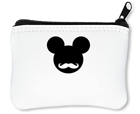 Mickey Mouse Hipster Logo Graphic Billetera con Cremallera ...