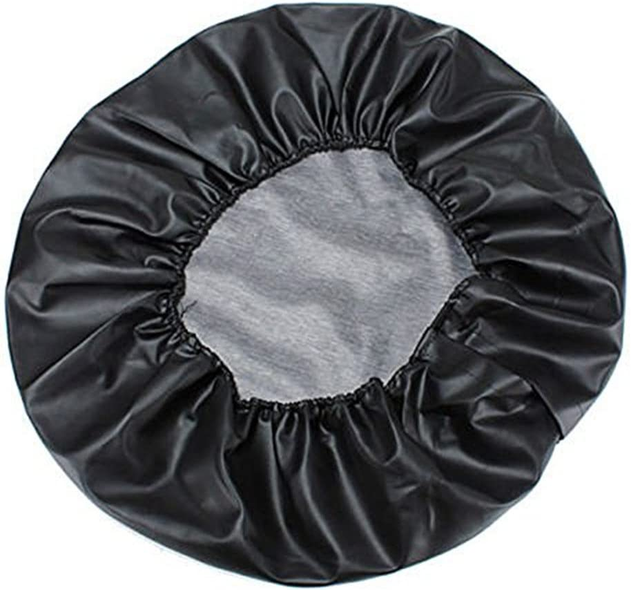 Spare Tire Cover Truck and Many Vehicle Universal Fit For Jeep SUV RV Trailer Black Wheel diameter 25-27 Weatherproof Tire Protectors