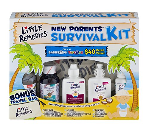 Little Remedies Paraben Free, New Parent Survival Kit Essentials for Your Baby