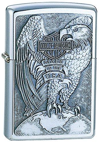 zippo-harley-davidson-full-faced-eagle-emblem-pocket-lighter