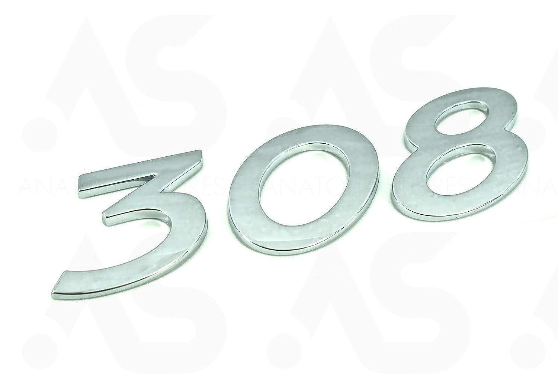 Emblema para puerta trasera 8665VG 96758508VD