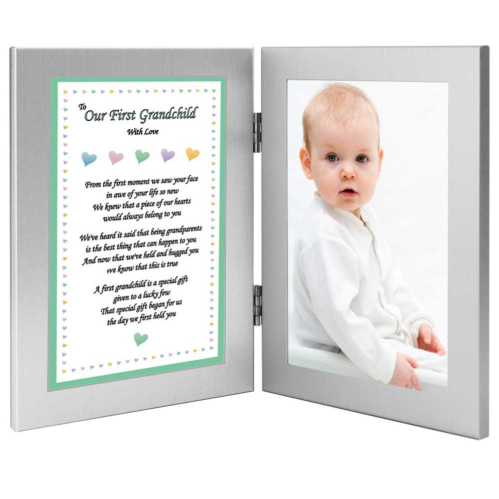 To Our First Grandchild With Love - Sweet Poem from Grandparents - Add Photo by Poetry Gifts