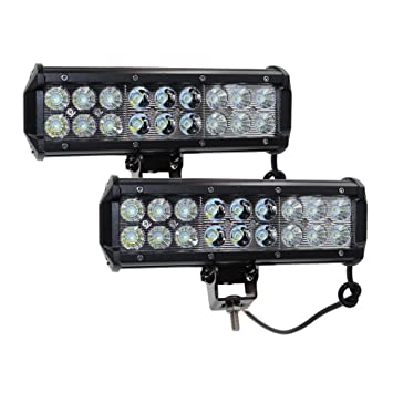42b10ae746c 2pcs 54w 9in spot flood barra led largo alcance faros de trabajo led 12v-24v