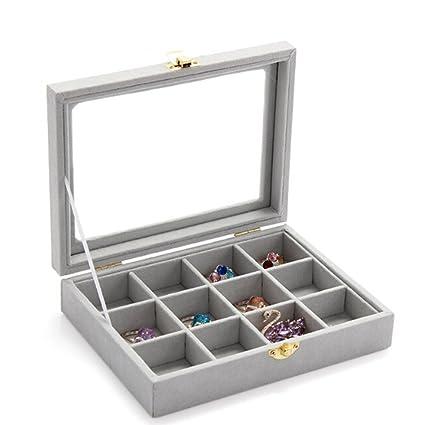 Amazoncom WERSHOW Jewelry Box Jewelry Display Tray Inserts 12